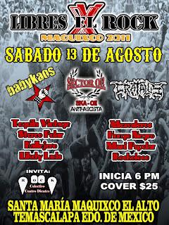 Libres por el Rock  Maquixco 2011