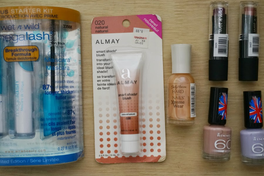 Beauty Haul: Sally Hansen, Rimmel, Almay, Wet n Wild from eBay
