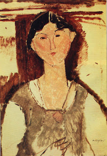 - Modigliani's stormy affair with the South-African-born writer, Beatrice Hastings, whom he painted several times, began in 1914. They drank and took drugs together, she matching his excesses with her own eccentricities.
