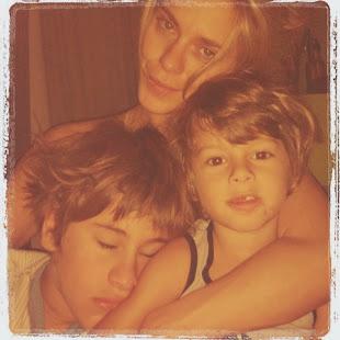 Carol e filhos