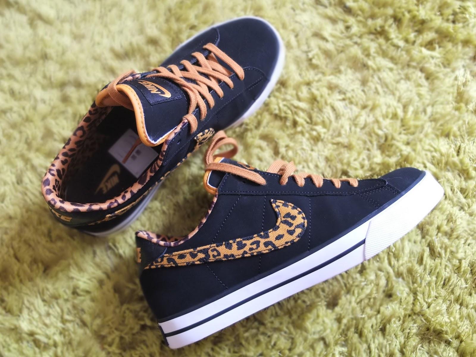 leopard print nikes