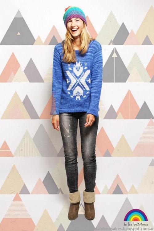 Moda tejidos invierno 2013 sweaters