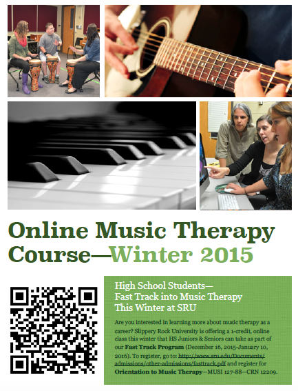 music therapy coursework