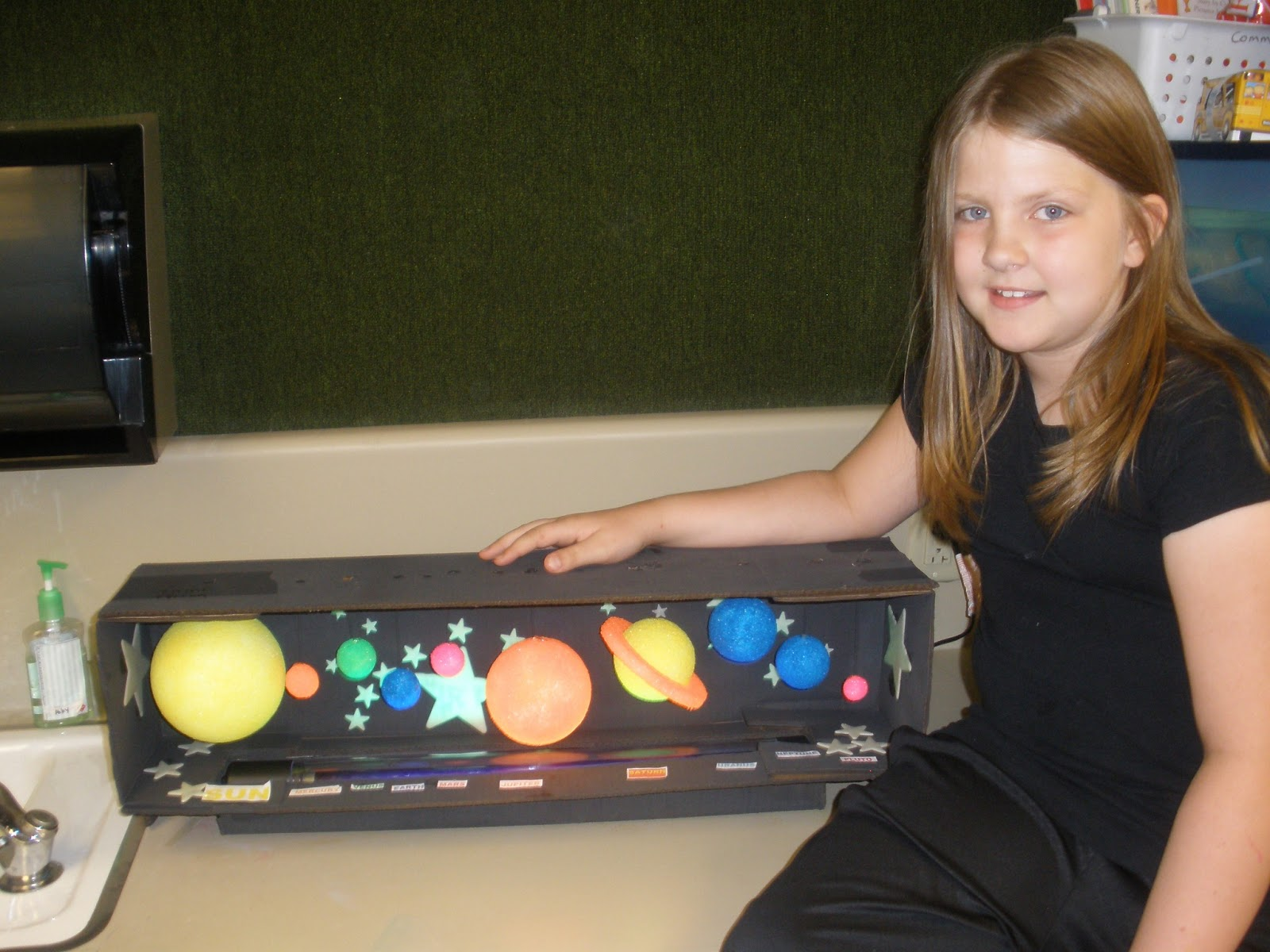 solar system school project Build a solar system model with free planets print out in this fabulous science projects for kids.