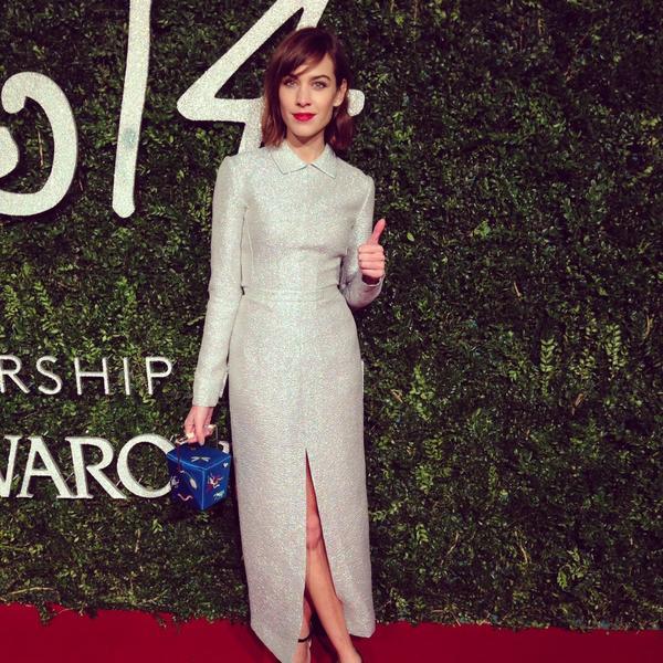 alexa chung british fashion awards