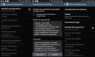 El Samsung Galaxy S4 libre recibe una nueva actualización en España