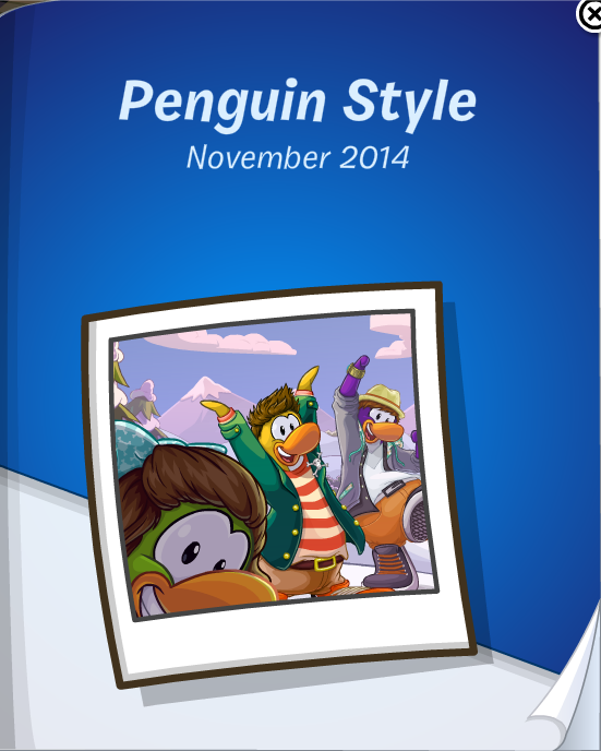 Club Penguin November 2014 Penguin Style Catalog Cheats
