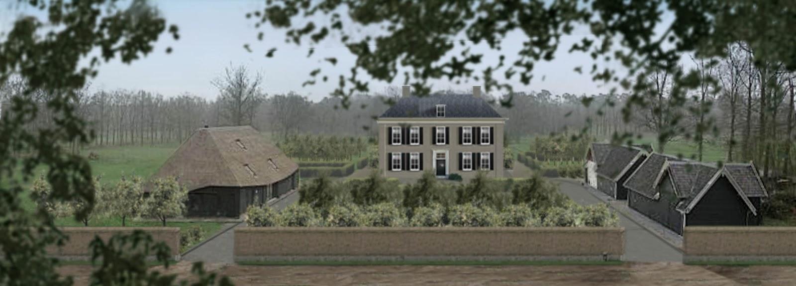 Boerderijtuinen keuze voor een woongebouw op landgoed de for Landhuis inrichting