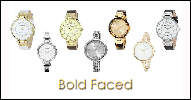 Bold Faced Watches