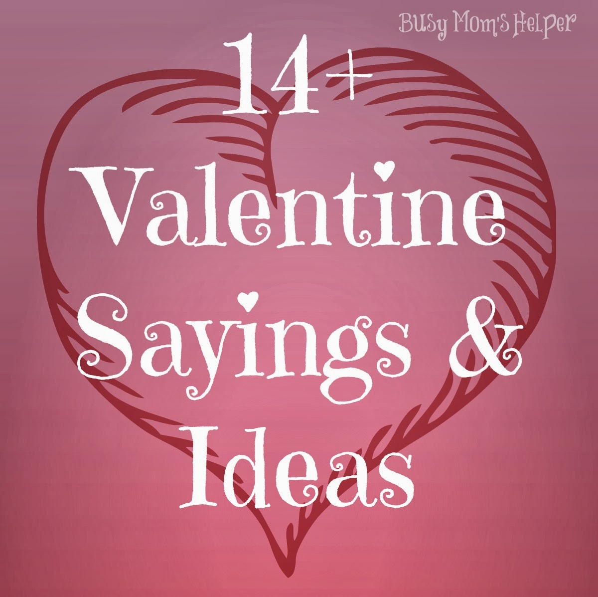 14 gifts of valentines with free printables plus more for Inspirational valentine crafts