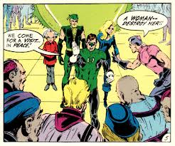 Green Lantern Green Arrow Comic