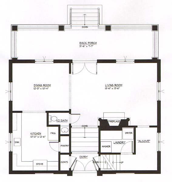 Planos de casas amplias con 3 dormitorios