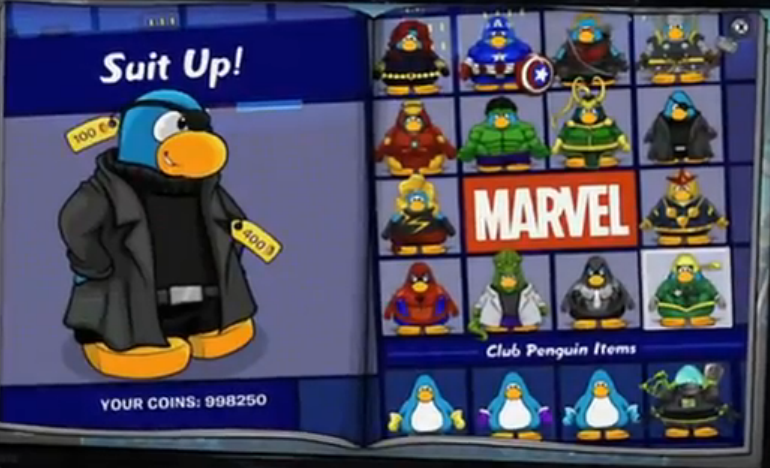 Club Penguin Super Hero Cheats