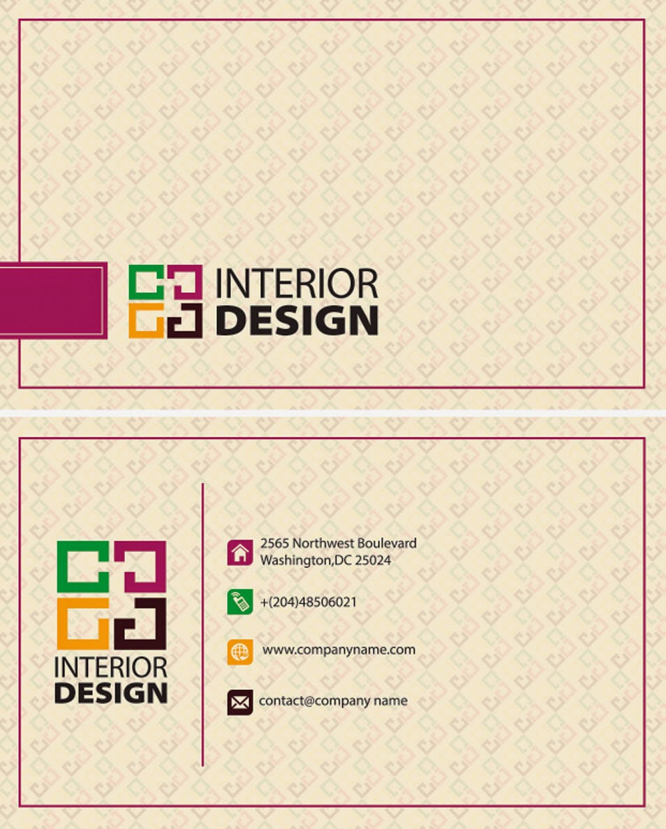 50 interior design er business cards ideas for your for Best names for interior designing firm