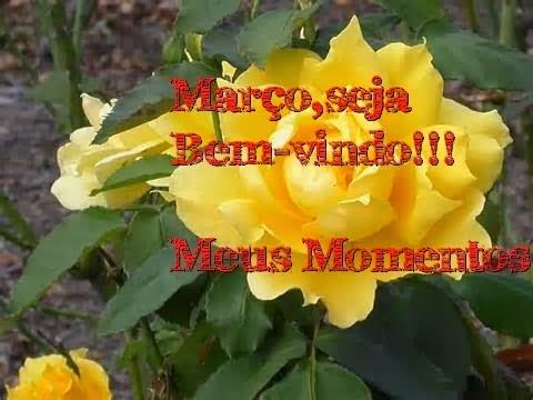 Março mês de bençãos!!!
