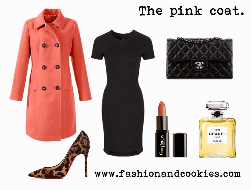 jackets and coats selection on Fashion and Cookies, Bonprix jackets, Fashion and Cookies, pink coat