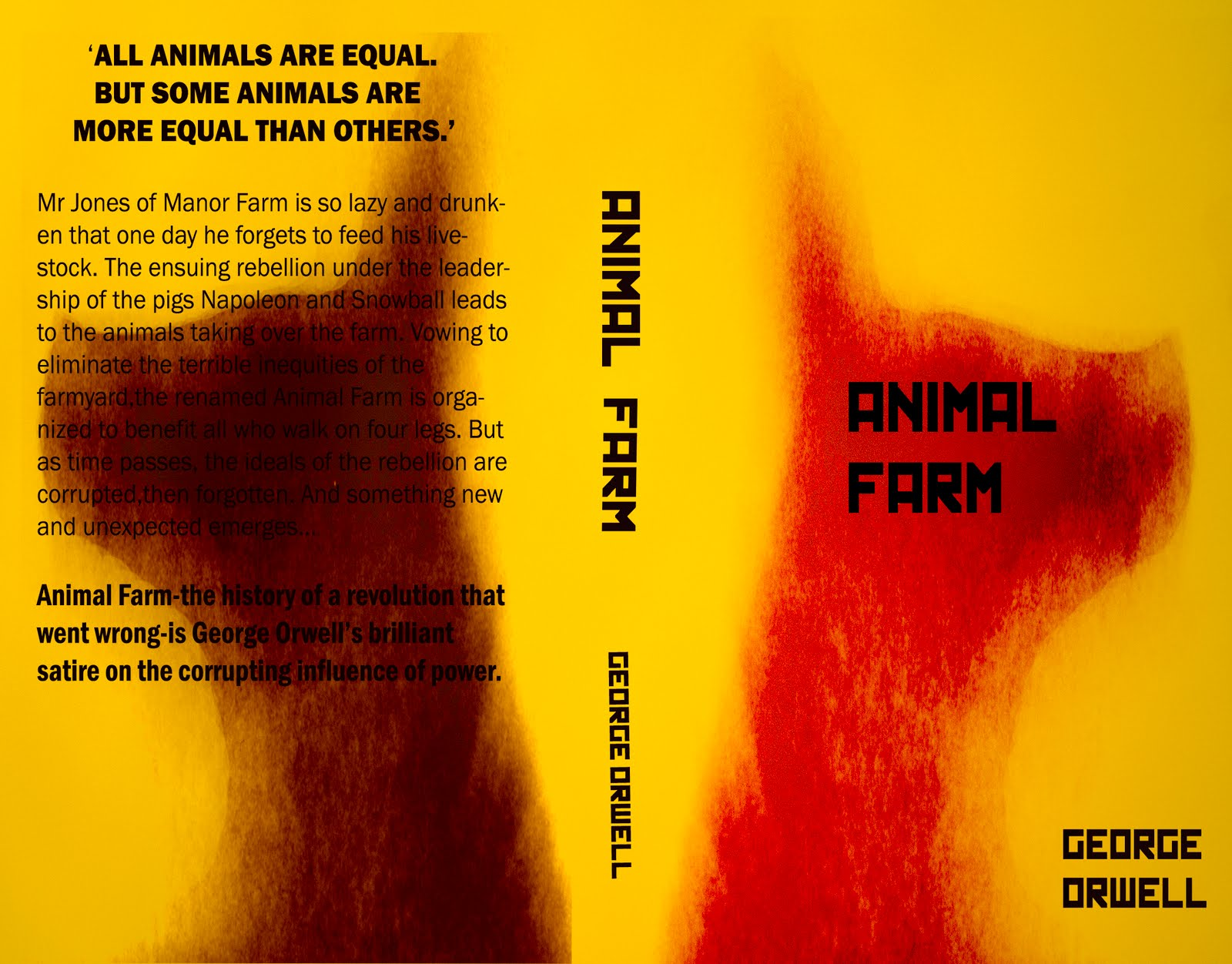 discuss the corrupting influence of power Struggling with themes such as power: leadership and corruption in george orwell's animal farm we've got the quick and easy lowdown on it here.