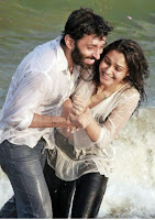 Andrea Jeremiah wet in Taramani Movie