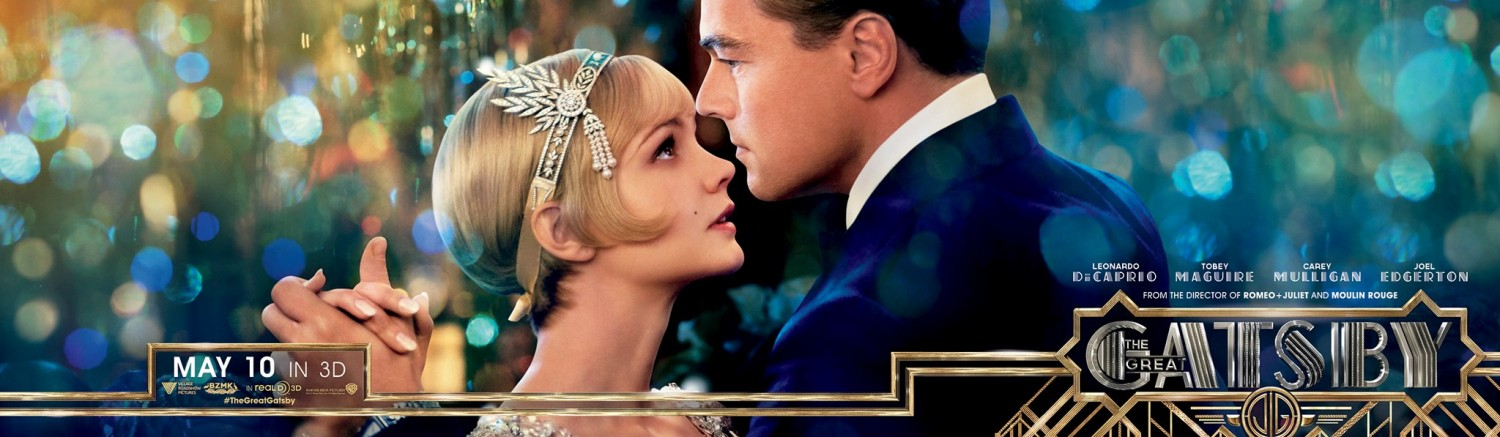 Great gatsby movie and book