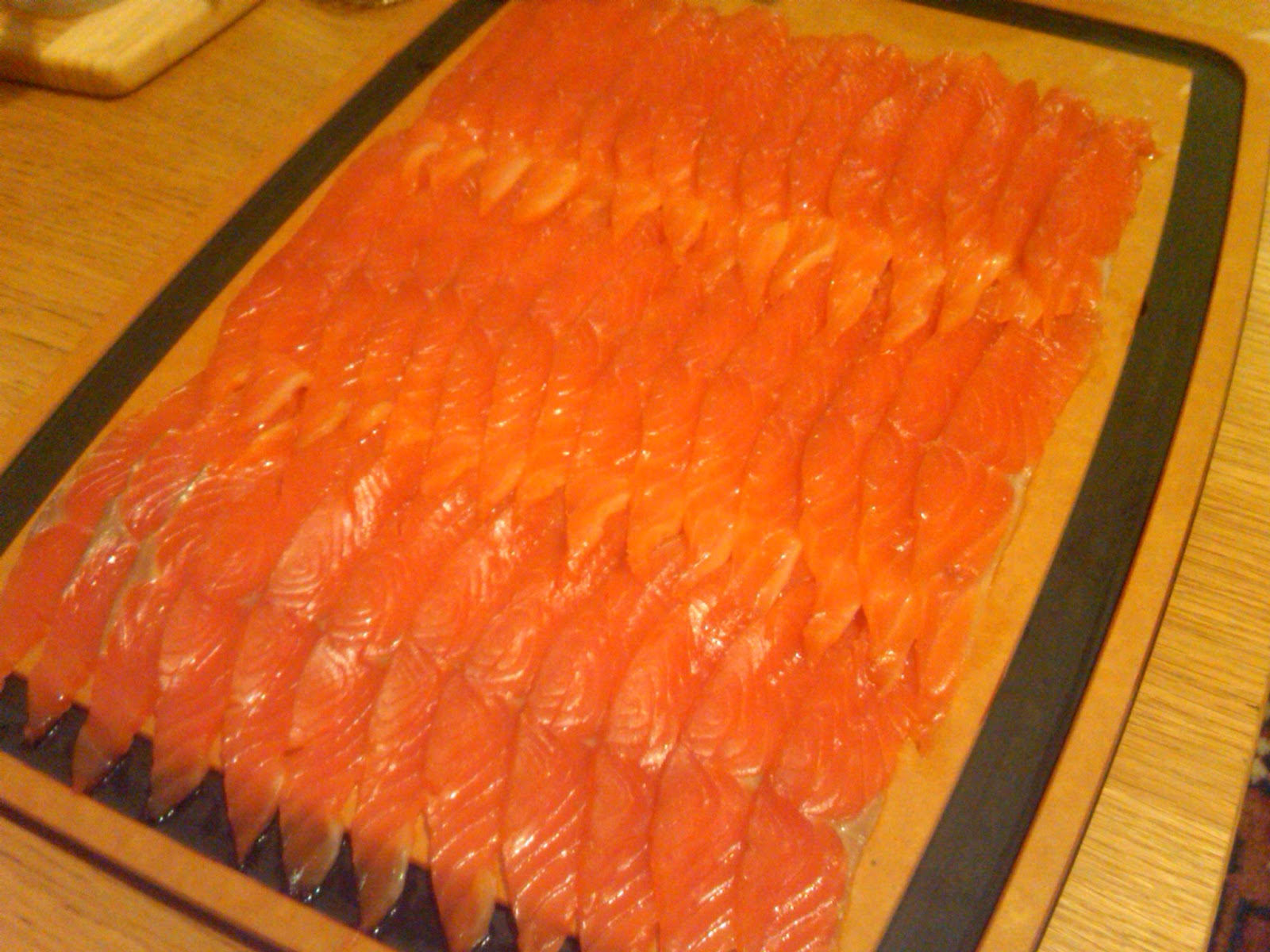 Biscuits 'N' Bacon: Brown Sugar and Citrus Cured Salmon