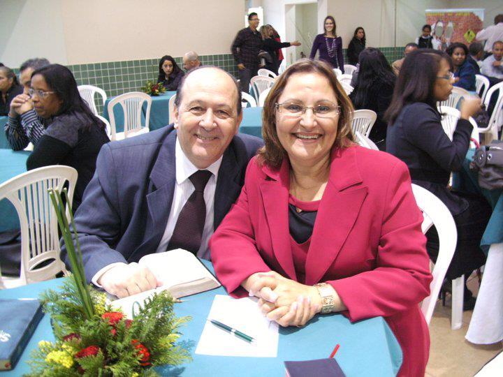 Adélia e Pr. Brunelli
