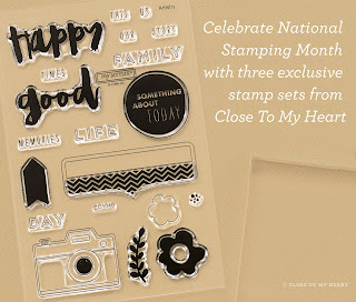 CTMH Hello Life Stamp Set
