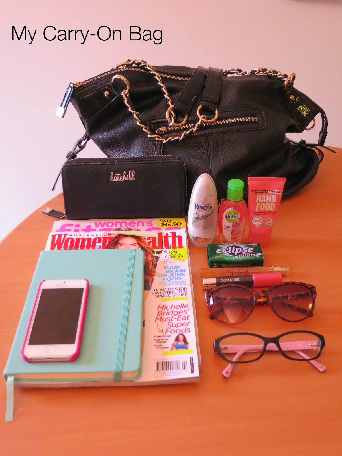 carry-on bag, travelling melbourne,