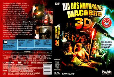 Dia dos Namorados Macabro 3D DVD Capa