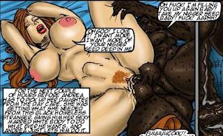 Interracial impregnation comics are not