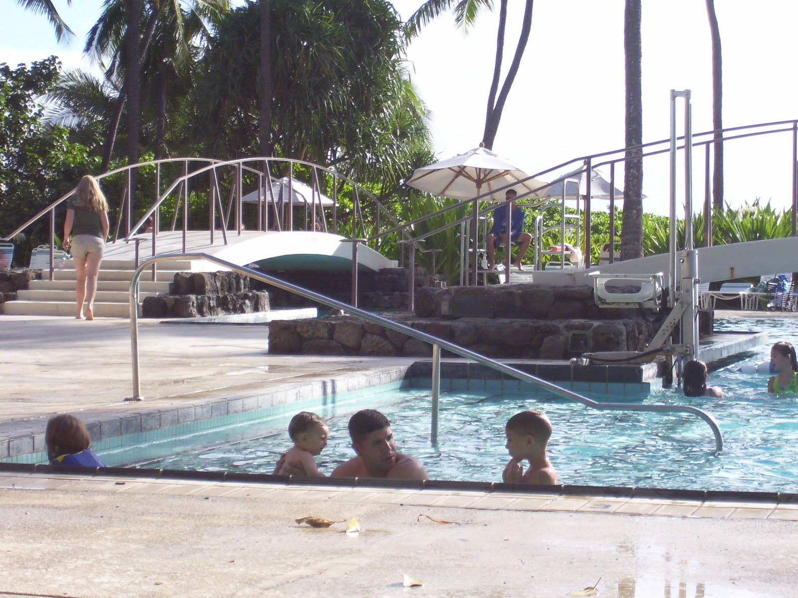 Hale Koa military resort on Waikiki Beach Honolulu Hawaii