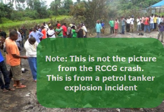 rccg church members killed accident