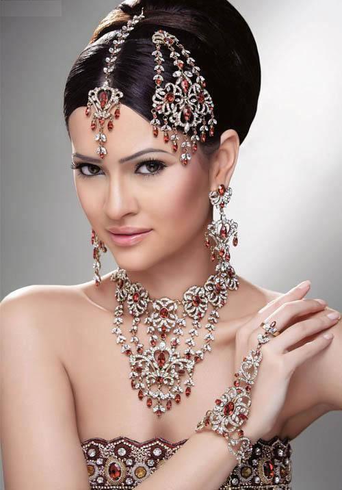 Fashion PK: Indian Bridal Hairstyles Photos and Videos
