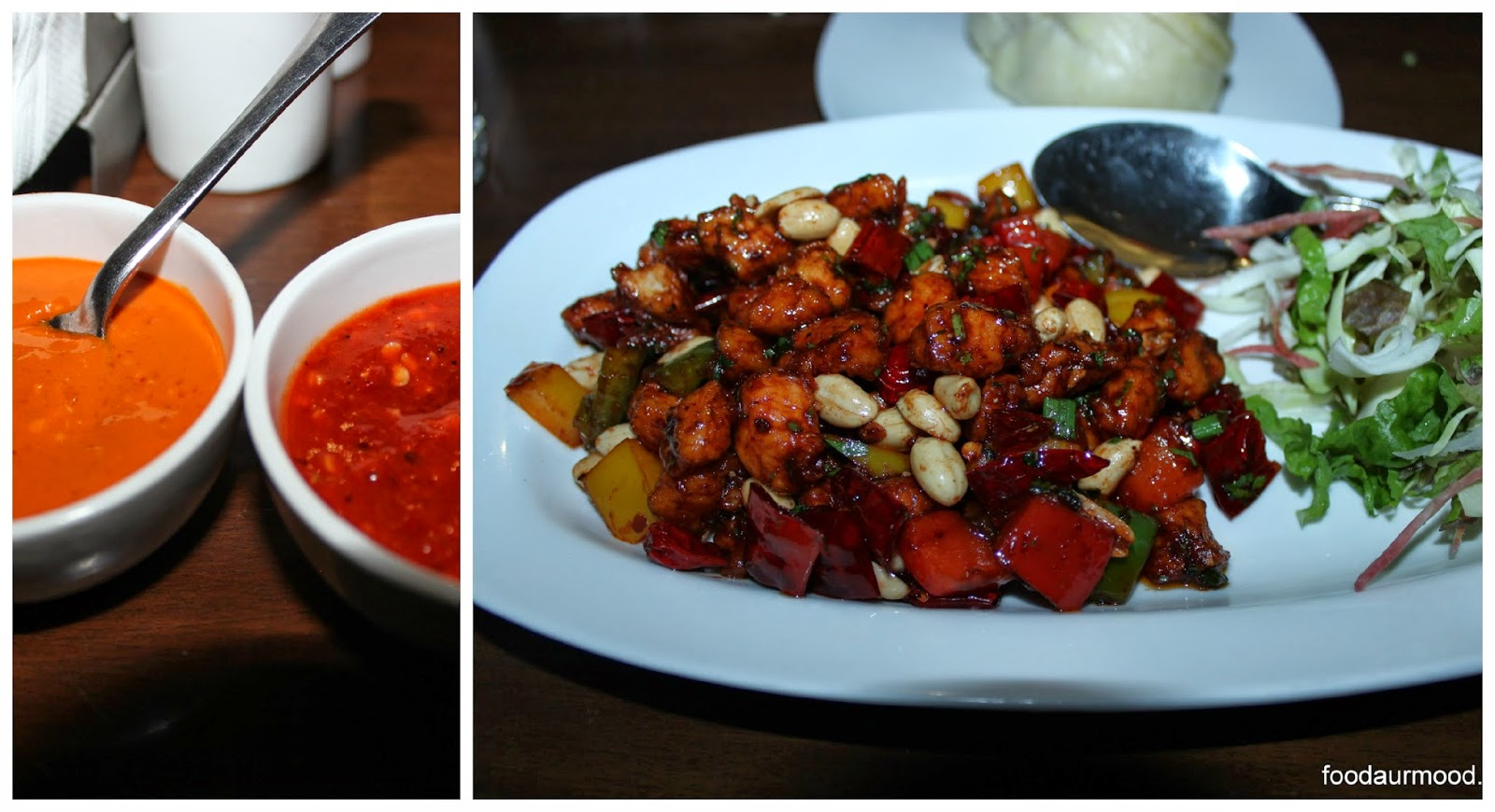 Chicken Dry Fry with Peanut and Pepper
