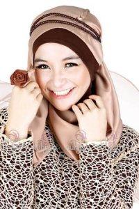 Jilbab Nuhijab S2NI - Coklat Susu (Toko Jilbab dan Busana Muslimah Terbaru)