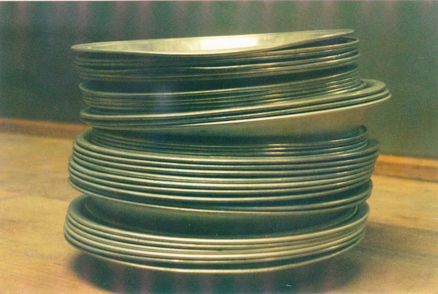 Pie Plate Stack on Film