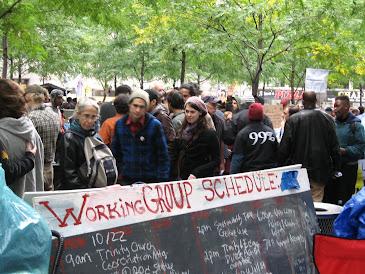 OWS Zuccotti Park, October 23, 2011