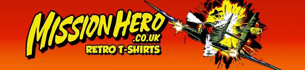 Mission Hero Retro Tees - Remember our Heroes