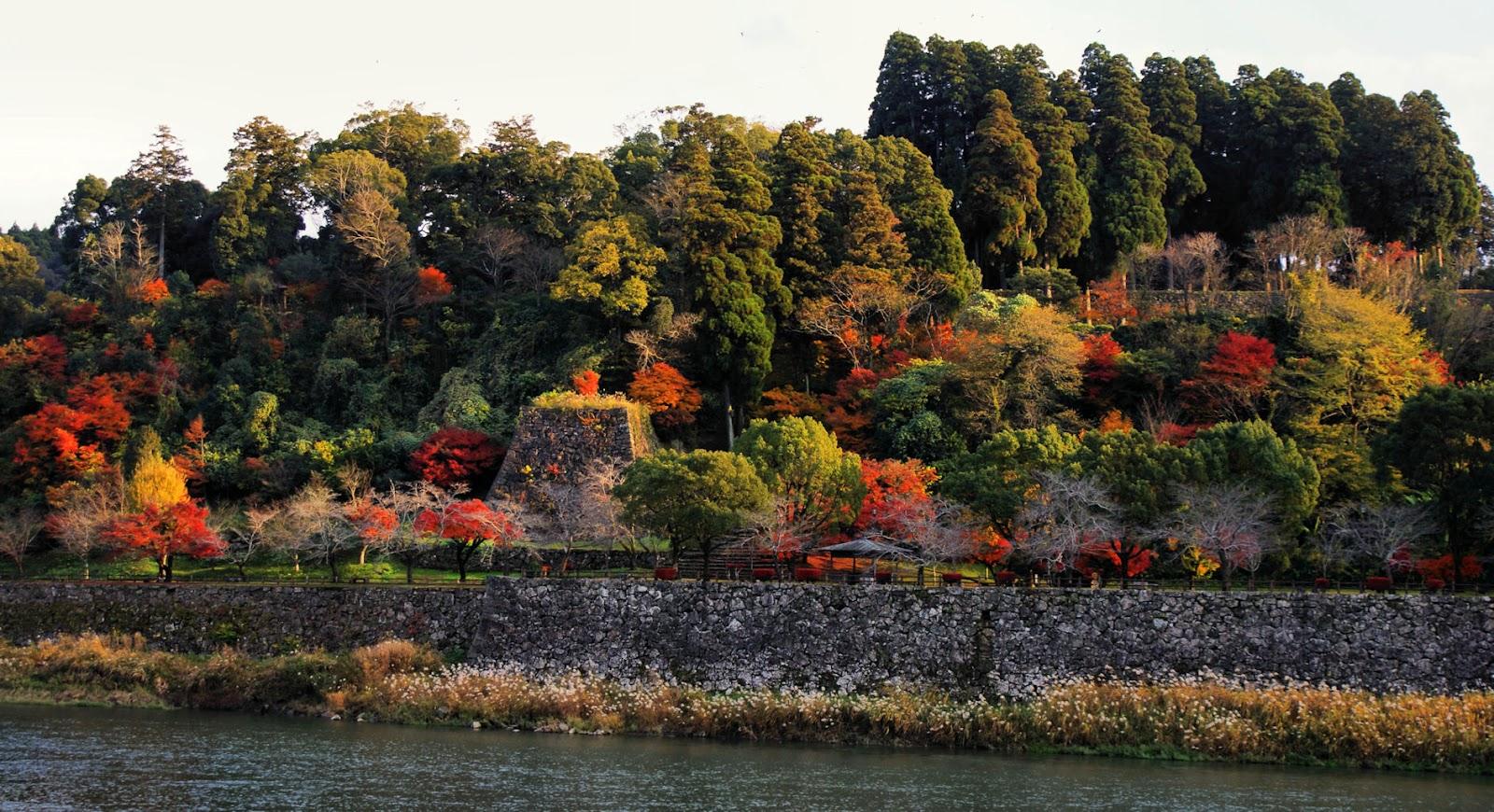 Hitoyoshi Castle Ruins, Kumamoto, Kyushu, Japan