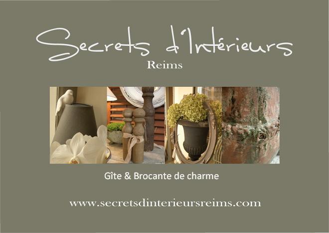 Secrets d'interieurs ,  gîte et brocante de charme à Reims