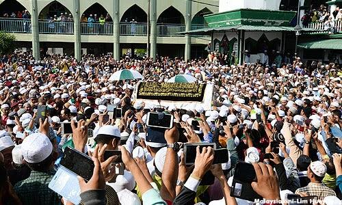 Gara gara siar Takziah Biadap Ibrahim Ali dikutuk ribuan pengguna Facebook