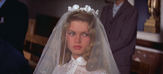 Brigitte Bardot in cotton lace 1960s wedding dress, c HVB vintage wedding blog 2013