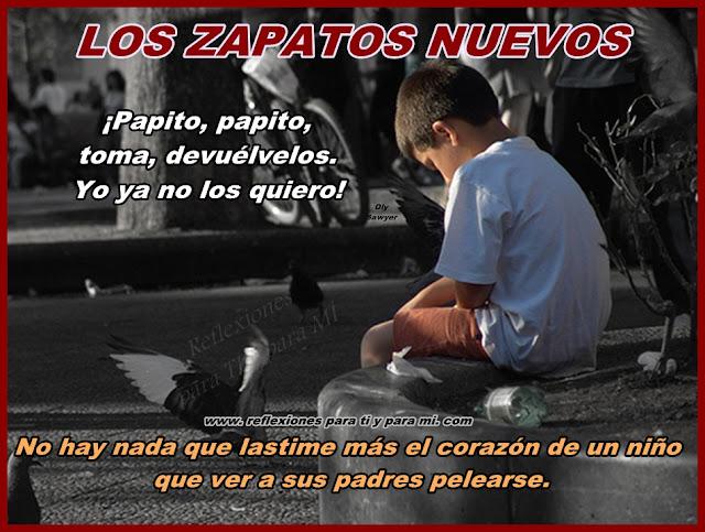 Reflexiones para ti y para m los zapatos nuevos - Zapateria para ti ...
