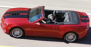 Fotos do Novo Camaro Conversível 2014