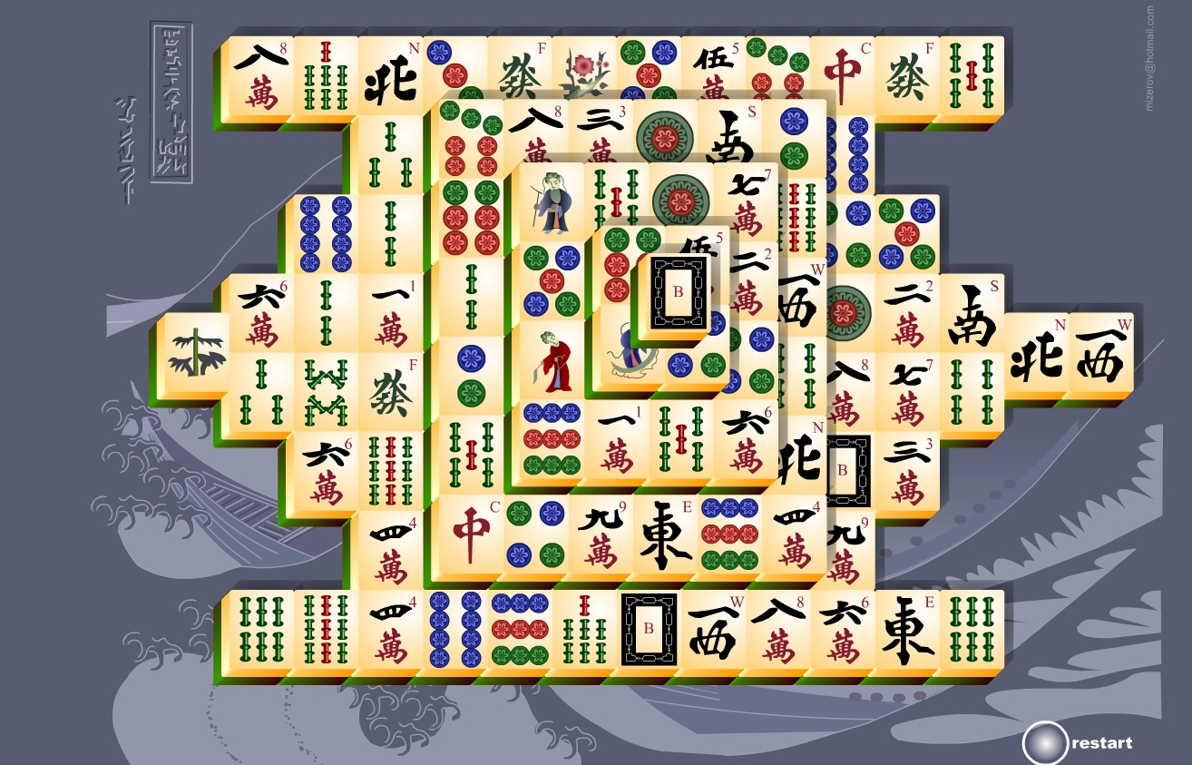 mahjong at