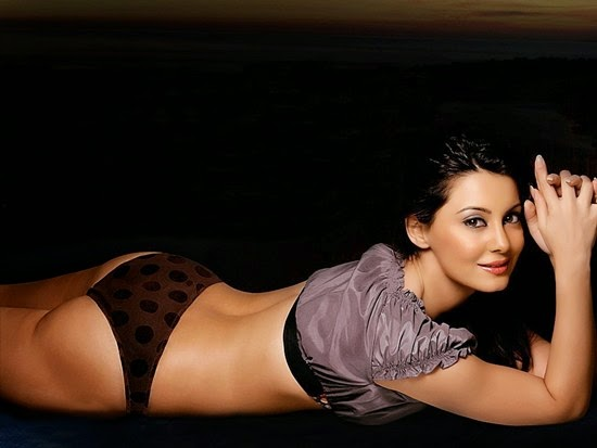 Minisha Lamba in bikini Hot Look - Bigg Boss 8 on Colors