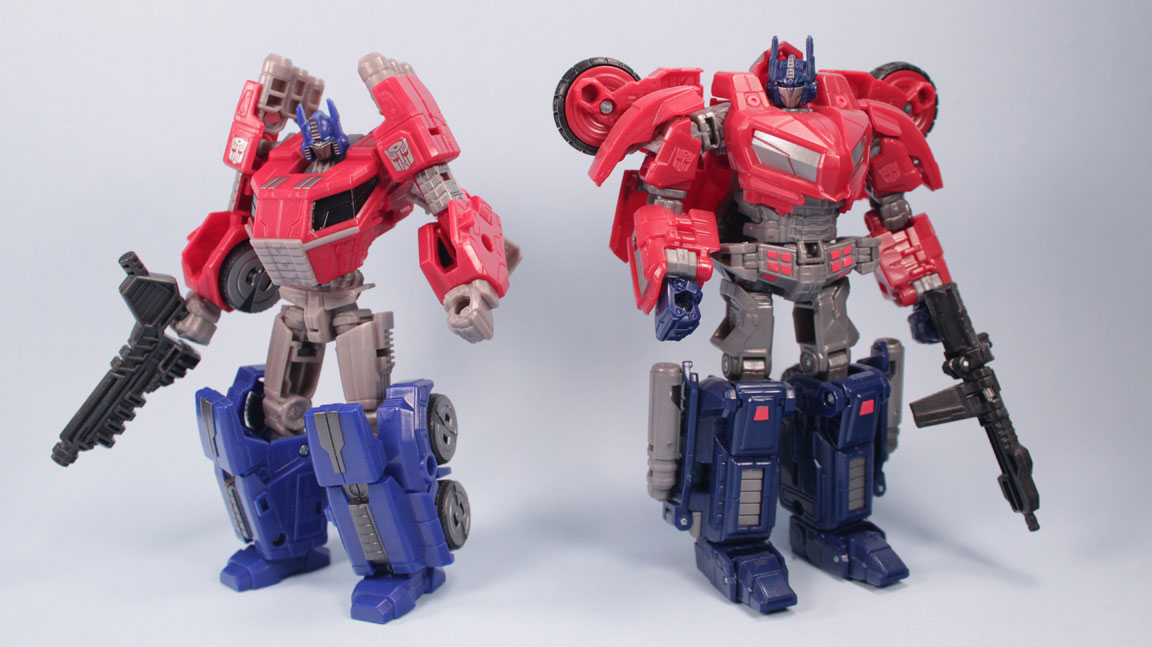 the toy museum optimus prime fall of cybertron