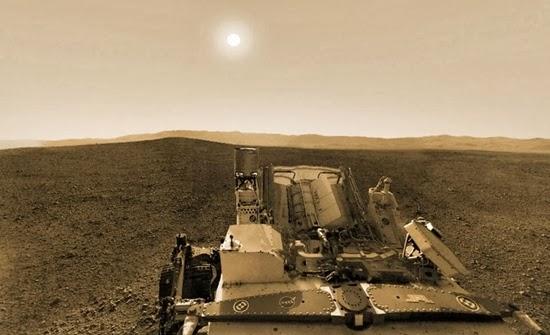 GALERI: Gersangnya Si Planet Merah