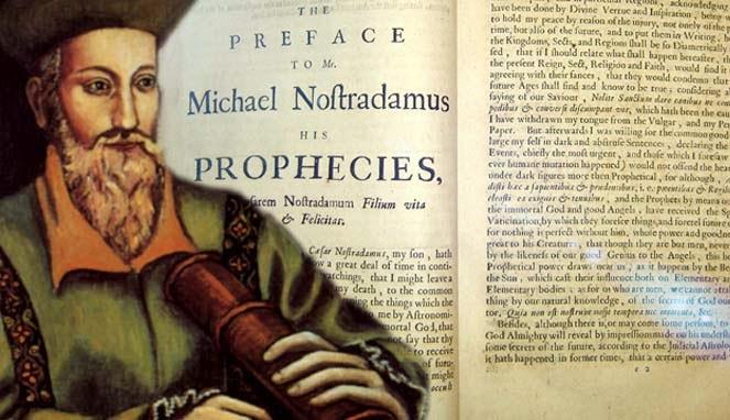 Nostradamus Si Bapak Peramal Dunia Barat Evogood
