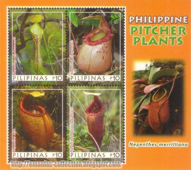 Stamp - Pitcher Plants of the Philippines