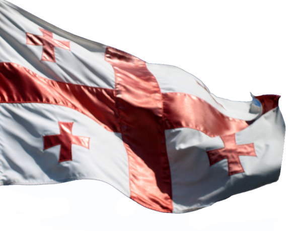 Flag of Georgia Background